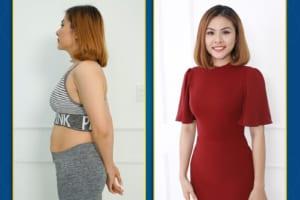 Hình ảnh kết quả khách hàng Giảm béo
