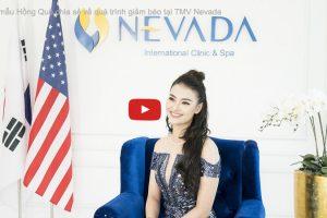 Siêu mẫu Hồng Quế chia sẻ về quá trình giảm béo tại TMV Nevada