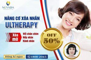Giảm 50% Nâng cơ trẻ hóa Ultherapy: Giữ nét xuân thì