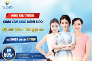 OFF 50++% Giảm béo bụng CN Max Burn Lipo 2018 chuẩn Mỹ ngay tại Việt Nam