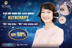 Công nghệ Ultherapy 2018: Xóa nếp nhăn má, khóe miệng – Trẻ hóa khóe cười