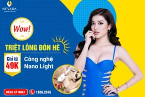 Gợi ý địa chỉ triệt lông uy tín tại Hà Nội và TP HCM