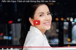 Nét mặt không thay đổi sau 12 năm của diễn viên Ngọc Trinh – Tất cả là nhờ Ultherapy