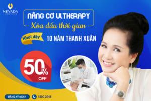 OFF 50% Xóa nếp nhăn mặt bằng công nghệ Ultherapy – Trẻ đẹp tức thì