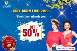 Giảm béo bụng CN Max Burn Lipo 2019 chuẩn Mỹ ngay tại Việt Nam