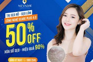 OFF 50% Trị sẹo lõm sẹo rỗ công nghệ Scare Plus 4.0: Cam kết hiệu quả 90%, xóa sổ sẹo