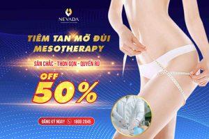 [Off 50%] Tiêm tan mỡ đùi Mesotherapy – Thon gọn vòng đùi không cần ăn kiêng tập luyện