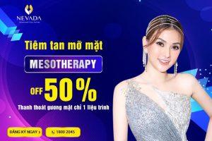 Tiêm giảm mỡ Mesotherapy bao lâu có kết quả?