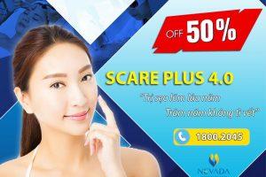 Scare Plus 4.0 – Trị sẹo lõm lâu năm, trăm năm không tì vết [Off 50% tại Nevada]