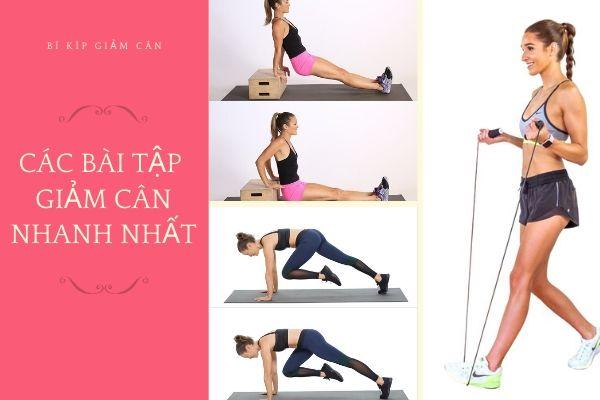 Những bài tập thể dục giảm cân toàn thân nhanh nhất cho nữ tại nhà được 100% chuyên gia thể hình đánh giá cao nhất