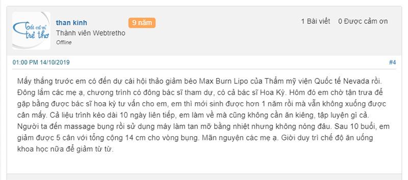 công nghệ max burn lipo có tốt không, giảm béo max burn lipo có tốt không, giảm béo max burn lipo có hiệu quả không