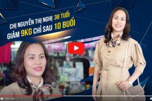 Giảm đến 9kg chỉ trong 10 buổi – Chị Nguyễn Thị Nghị 38 tuổi, mẹ 2 con vui mừng chia sẻ phương pháp giảm béo không dao kéo này