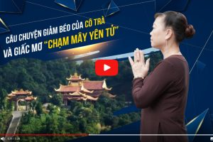 """Bao năm qua có niềm trăn trở mong 1 lần được hành hương đến đỉnh thiêng Yên Tử mà không được, giờ đây cô Trà đã tự tin """"leo phăm phăm"""" không cần cáp treo"""