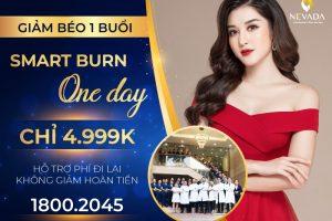 Chỉ 4.999k để giảm béo 1 buổi duy nhất Smart Burn One Day – Cam kết không giảm hoàn tiền