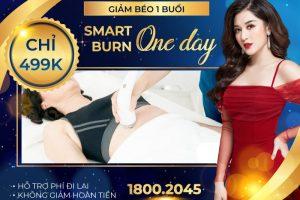 Chỉ 499k để giảm béo 1 buổi duy nhất Smart Burn One Day – Cam kết không giảm hoàn tiền