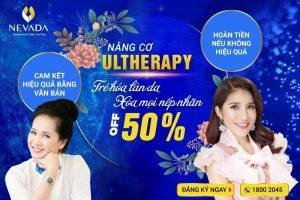 Nâng cơ xóa nhăn bằng công nghệ Ultherapy: 60′ hồi xuân 10 năm