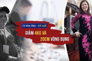 """Hàng trăm thứ bệnh vì béo, cô Kim Báu nhất nhất tìm cách giảm cân, khẳng định """"giảm béo không chỉ để đẹp mà còn để khỏe"""""""