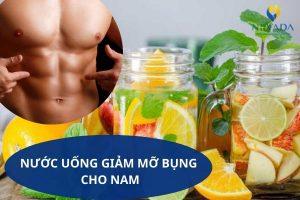 TOP 5 loại nước uống giảm mỡ bụng cho nam giới thần thánh đốt mỡ cực nhanh