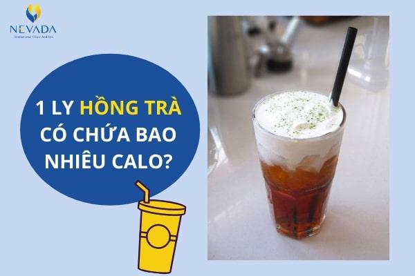 hồng trà có béo không, hồng trà có giảm cân không, hồng trà bao nhiêu calo, uống hồng trà có mập không, uống hồng trà có béo không