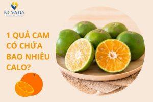 1 quả cam có chứa bao nhiêu calo? Ăn cam có giảm cân không?