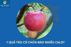 1 quả táo có chứa bao nhiêu calo? Táo có tác dụng giảm cân không?