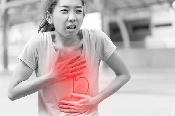 tác hại của gen nịt bụng, trào ngược, ngược axit