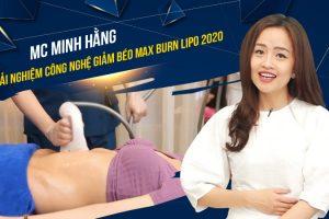 Let's Stye VTV6ː MC Minh Hằng tìm lại vóc dáng thời thanh xuân cùng công nghệ giảm béo Max Burn Lipo 2020