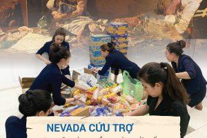 Hướng về miền Trung thân yêuː Thẩm mỹ viện Quốc tế Nevada phát động phong trào cứu trợ trong toàn bộ CBNV
